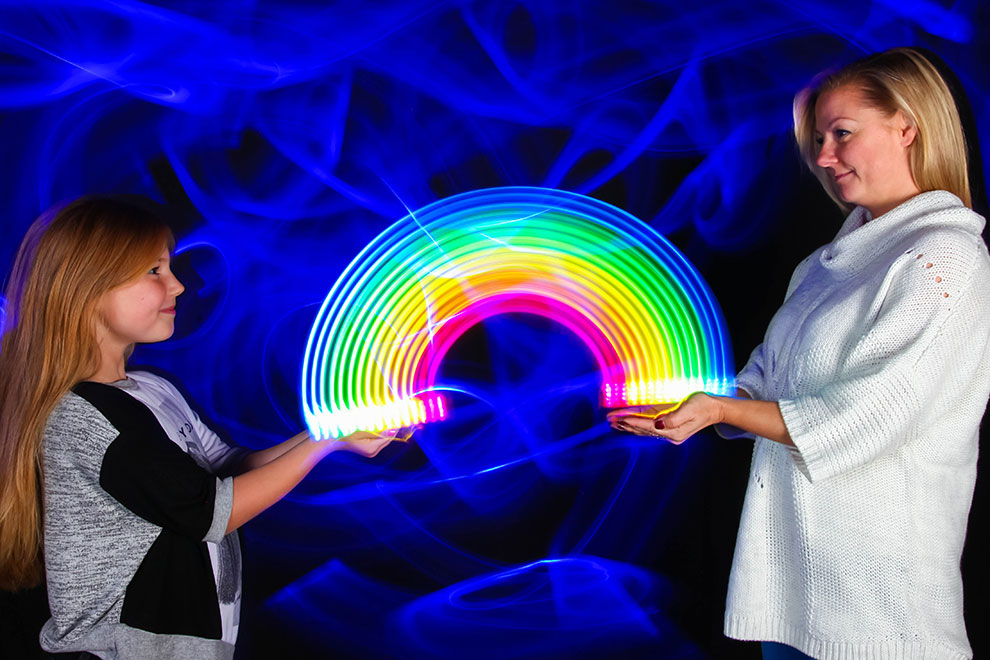 Pop Up Paint Booth >> Light Graffiti and Light Painting by artist Sola Light Lab Light Painting Photo Booth