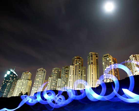 Light Up Dubai