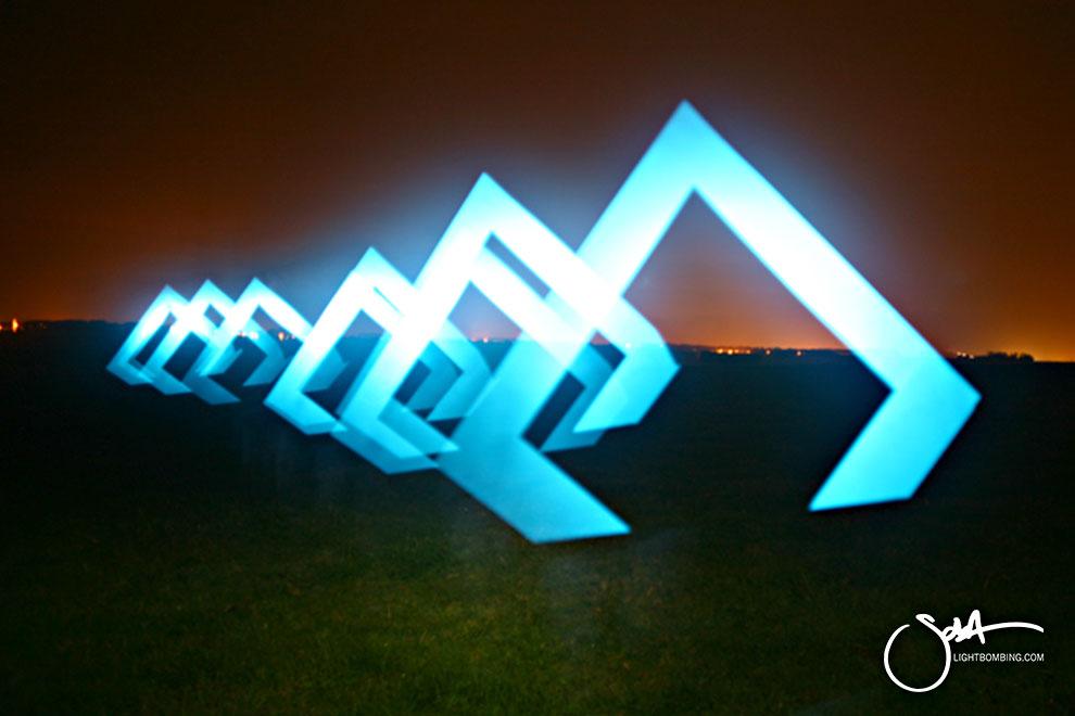 Light Artist sola Stonehenge Curses pyramid