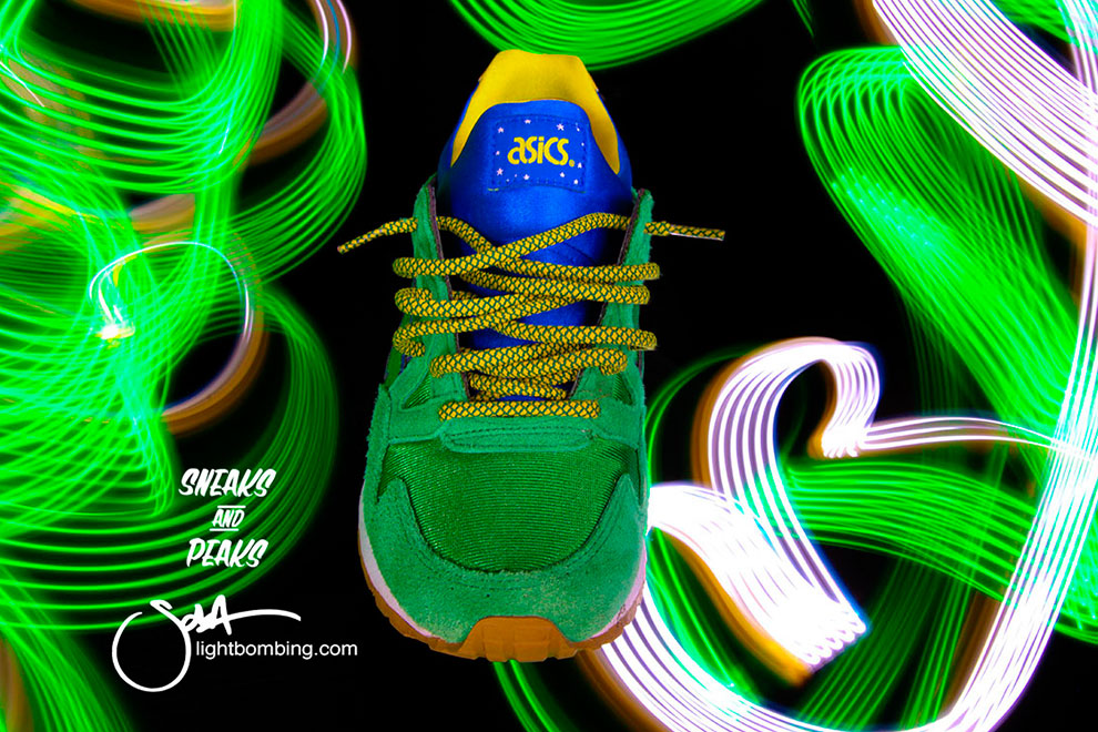 Asics Tiger Light Graffiti Ltd Edition Asics Lightbombing
