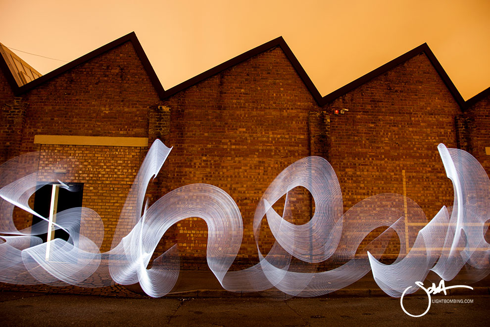 corporate Art Bespoke modern art Light Painting