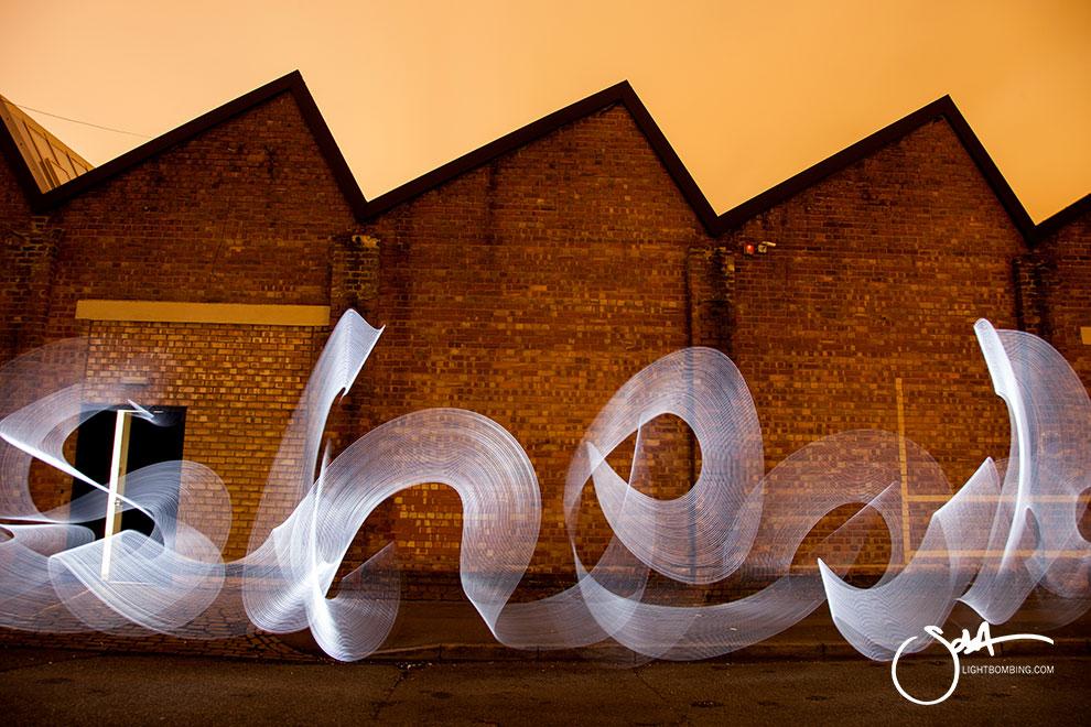 corporate Art Bespoke modern art Light Painting
