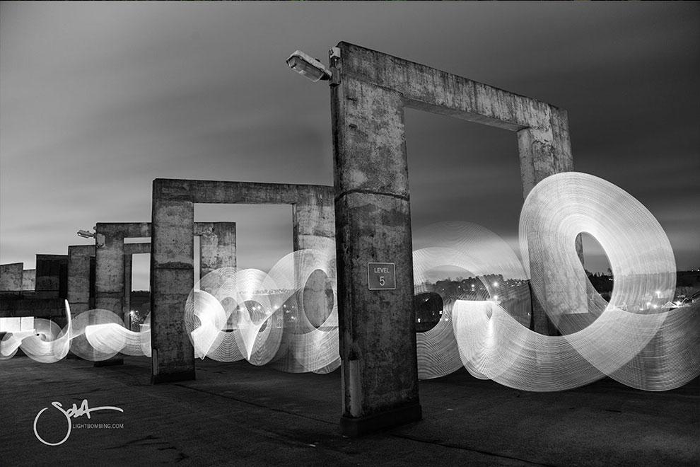 Light Graffiti and Light Painting Photographer Sola