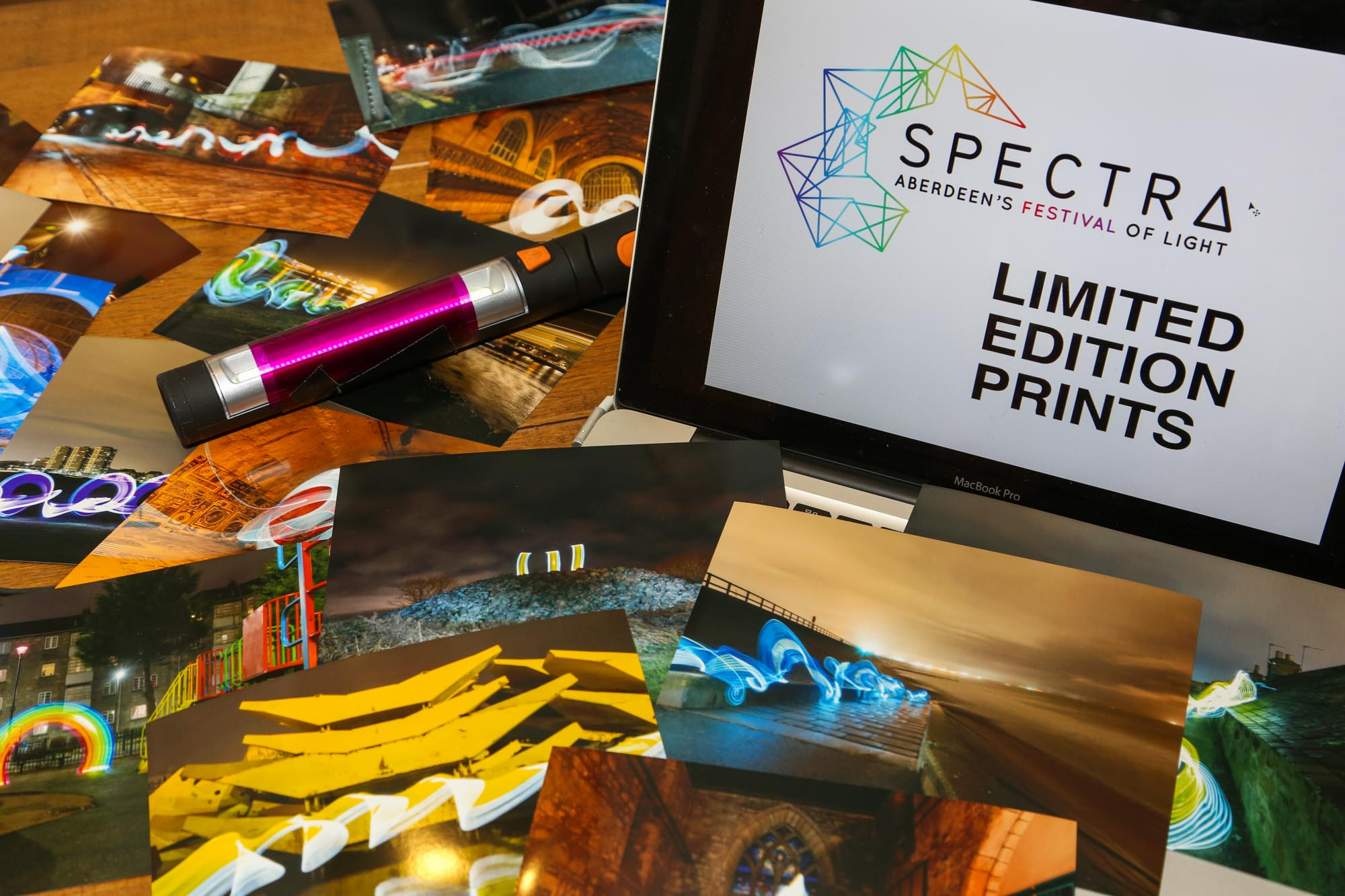 SPECTRA Festival Limited edition Prints by Sola